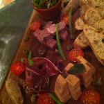 charcuterie plater for the aperitif