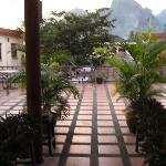 outside terrace (deserted)