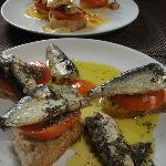 Bacalao and sardines