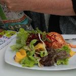 Salmon divine dish