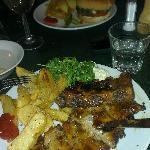 ribs & burger