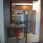 Cozinha do Apart Duplex