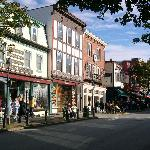 Bar Harbor street view