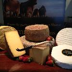 delicious hand made cheese, made exclusively from the milk of Brown Swiss Cows
