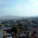 Vue de Guadalajara depuis le 7eme etage de l'hotel