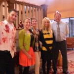 Super staff with more Halloween fun