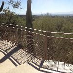 View from one of the casitas