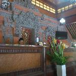 Beautifully carved entrance/reception