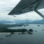Sea plane view