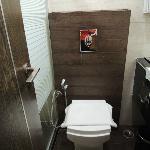 Modern clean toilet