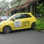 Their delivery car
