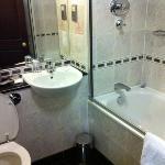 salle de bain de chambre canapé/lit + lit double