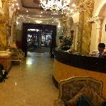 Beautiful marble lobby