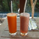 Healthy Fruit juices from breakfast menu (In-room dining)