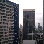 Ortigas Centre outside the hotel