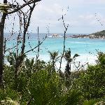 View from the path to Petit Anse