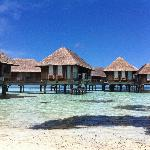 OVerwater bungalows, great if you can afford it