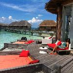 The Manta Club, exclusive for guests of the overwater bungalows