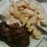 Angus argentina con patate