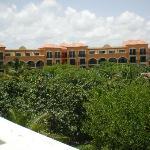 Vistas desde habitacion del resort