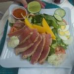 Freshest Ahi Tuna Salad ever!