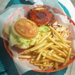 Tasty Tropical Burger
