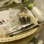 prodotti forniti dall'hotel