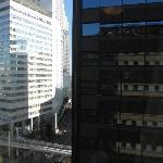 vista sui grattacieli
