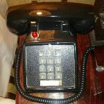 This telephone, don't be scared by the ringtone!