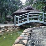 "hot springs of thanh tan, in the ""VIP""/pricier package area"