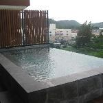 priv. Pool auf der Terrasse
