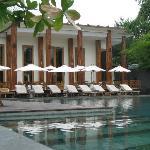 Restaurant und Pool