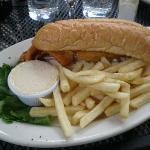 The cod sandwich