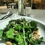 roasted pumkin salad