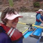 My wife also enjoyed the class 1 and 2 rapids.