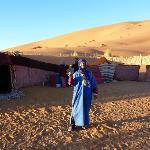jaimas en el desierto. propiedad del yasmina hotel