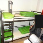 YHA London Central, Chambre 4 lits