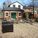 Feb 2012, prior refurb and decorating the garden when new owners took it on