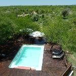 View from the upper deck at Bushcamp