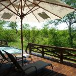 View from our veranda at Bushcamp
