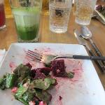 beetroot salad - YUM!