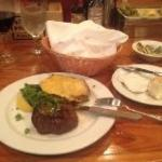 Possibly the worst steak and twice baked I ever had