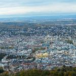 View of stuttgart from the TV tower