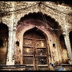 Once a haveli today a dharamshala in Old Delhi
