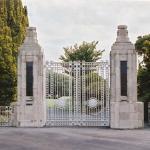 The Victoria Park Memorial Gates