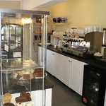 The Courtyard serves light refreshments all day, including speciality teas and coffees
