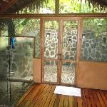In and outdoor shower