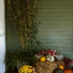 Autumn Décor at entry