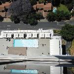 Poolbereich von oben