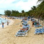 Public beach at Cruise Terminal